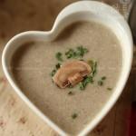 奶香蘑菇浓汤(西式料理菜谱)