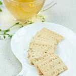 橄榄油香葱饼干(烘培菜谱)