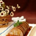桂花糯米藕(江南传统名菜菜谱)