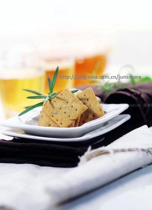 橄榄油迷迭香脆饼