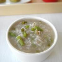 豇豆绿豆粥+红豆窝头