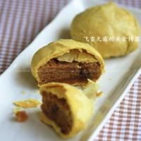 咖喱肉松月饼