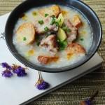 香芋排骨粥(秋季养生菜谱)