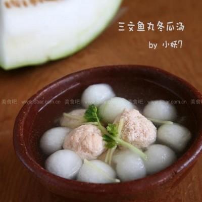 三文鱼丸冬瓜汤