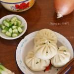 洋葱猪肉水煎包(早餐菜谱)