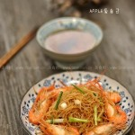 香辣鲜虾炒米线(早餐菜谱)