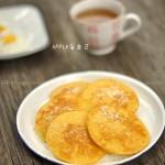 椰丝玉米软饼(早餐菜谱)