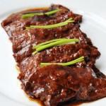 红烧鹿肉片做法(调气血,温元气的一道滋补型东北风味菜谱)