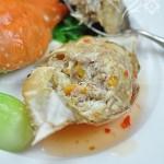 酿蟹斗(海鲜菜谱)