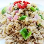 鹅肝酱炒饭(素菜菜谱)