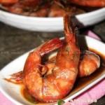 红酒油焖虾(海鲜菜谱)