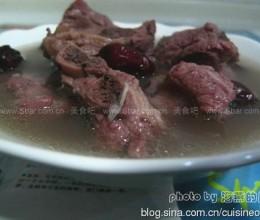 红豆红枣仔排汤