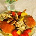 咖喱蟹(海鲜菜谱)