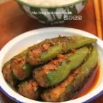 酿青椒(荤素搭配菜谱)