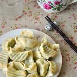 黄瓜鸡蛋水饺(早餐菜谱)