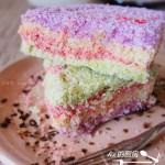彩虹松糕(重阳美食菜谱)