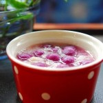 酒酿紫薯小丸子(滋润养颜菜谱)