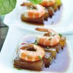 虾煮冬瓜(海鲜菜谱)