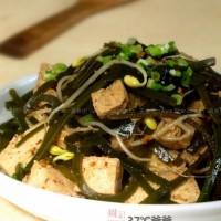凉拌冻豆腐海带丝