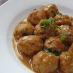 香菇猪肉丸(荤菜菜谱)