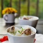 蘿卜排骨湯(最適合秋冬滋補湯品菜譜)