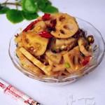 麻辣藕片(素菜菜譜)