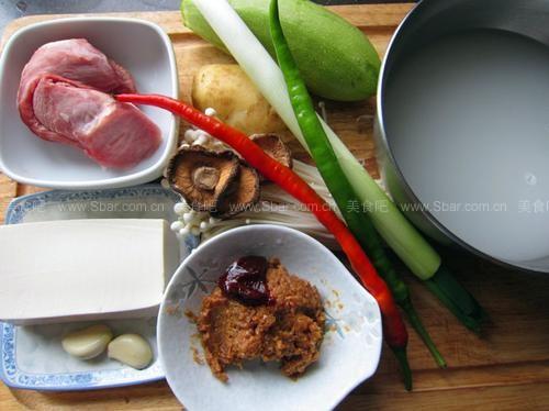 基本韩式大酱汤