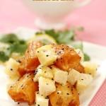 菠萝油条虾(水果入菜的经典菜谱)