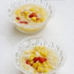 马蹄粟米羹(微波炉菜谱-十分钟搞定滋润糖水)