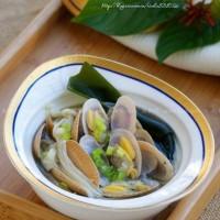 低卡高营养的蛤蜊汤