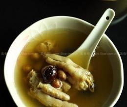 花生红枣煲凤爪