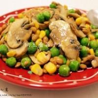 纳豆蘑菇沙拉