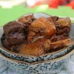 松菇炖鸡(荤菜菜谱)