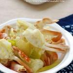 姜葱炒花蟹(海鲜菜谱)