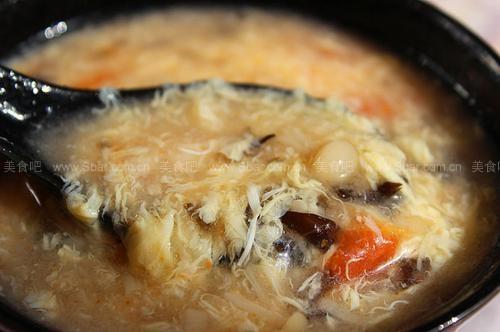西红柿金针菇蛋花汤