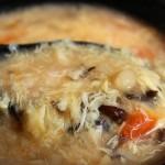 西红柿金针菇蛋花汤(冬日早餐菜谱)