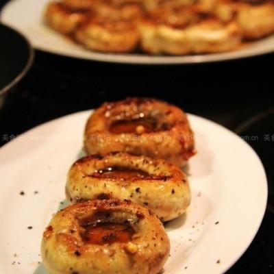 西班牙蒜香煎蘑菇