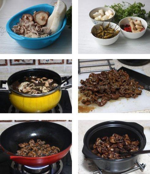泡椒干锅肥肠