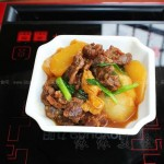 柱候醬燜牛腩蘿卜(冬天的廣東熱門菜譜)