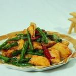 干煸冬笋(素菜菜谱)