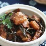 干豆角炖五花肉(最适合冬天吃的炖菜菜谱)