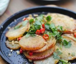 铁板孜然土豆片