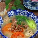 番茄鱼羊鲜(冬日靓汤菜谱)