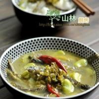 泥鰍雪菜蠶豆湯