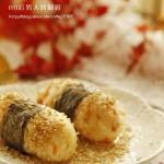 鲜虾饭团(早餐菜谱)