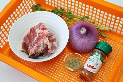 铁板炒烤羊肉