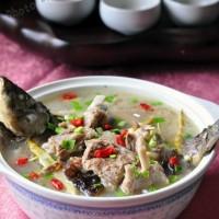 羊排鯽魚湯