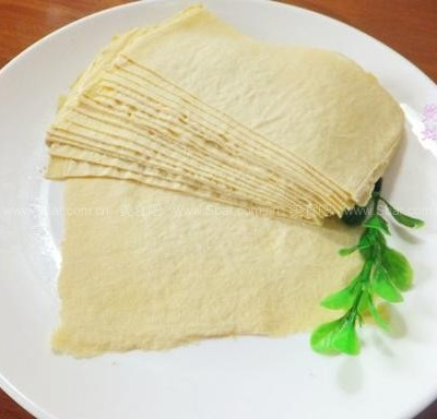 自制豆腐皮