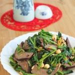 酱猪肝拌菠菜(如何做好酱猪肝)