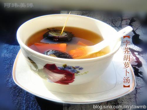 孛荠胡萝卜汤、红枣汤